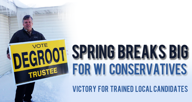 American Majority Trained Candidates Win Wisconsin Local Elections