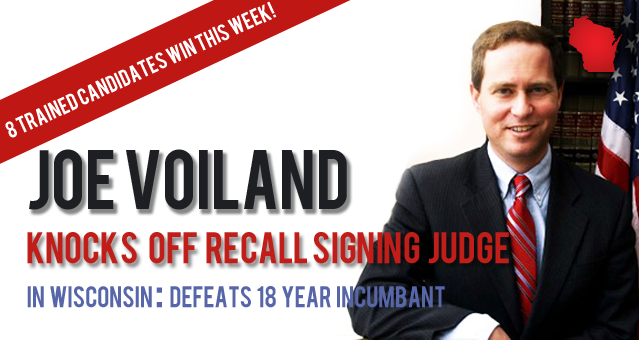Joe Voiland Win Campaign American Majority Trained Candidates