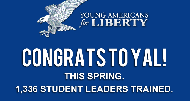 Congrats ot Young Americans for Liberty