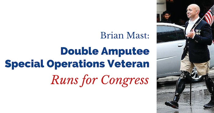 Double Amputee Special Operations Veteran Runs for Congress