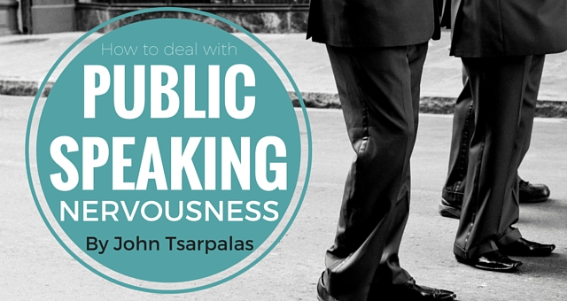 how to avoid nervousness in public speaking