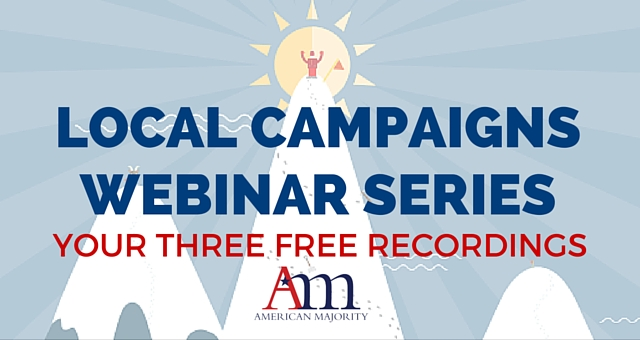 Local Campaigns Webinar Series