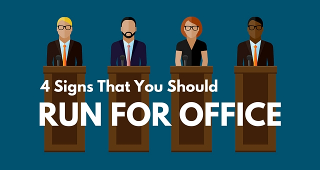 4 signs that you should run for office american majority for How many times can a president be elected to office