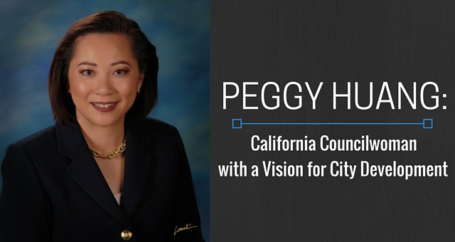 Peggy Huang California Councilwoman with a Vision for City Development